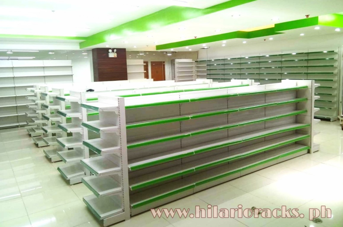 Pharmacy Racks – Green
